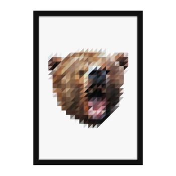 Sliced Pixel Bear